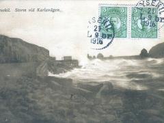 Lysekil Storm vid Karlavägen