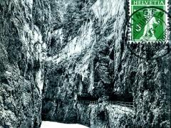 Aareschlucht Gorges de l'Aar