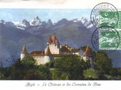 Aigle Le Chateau et les Cornettes de Bise