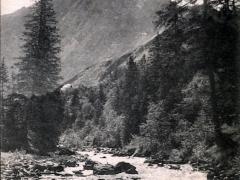 Alpenlandschaft Paysage alpestre