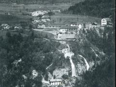 Cascade du Day pres Vallorbe et le Mont d'Or