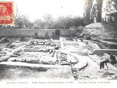 Castrum d'Yverdon Camp Romain Fortifie Detruit