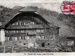 Chalet des Arses pres Charmey