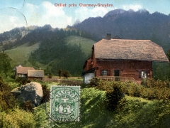 Chalet pres Charmey Gruyere