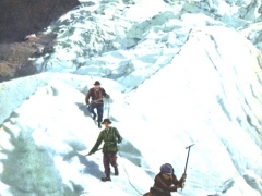 Chamonix Aiguille du Midi et Glacier des Bossons