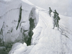 Chamonix Caravane au Mont Blanc