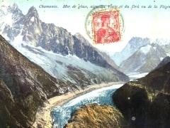 Chamonix Mer de glace aiguilles