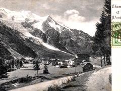 Chamonix et le Montblanc
