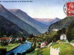 Champ du Moulin et le Creux du Van