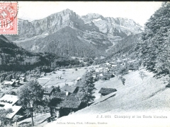 Champery et les Dents blanches