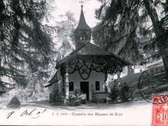 Chapelle des Mayens de Sion