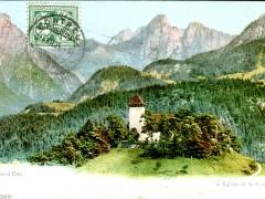 Chateau d'Oex L'Eglise et la Bumfluh