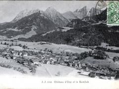 Chateau d'Oex et la Gumfluh
