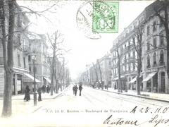 Geneve Boulevard de Plainpalais