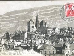Geneve Cathedrale de St Pierre et le Saleva