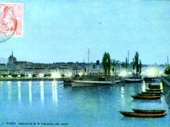Geneve a 11 heures du soir