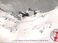Hospice du Grand St Bernard et le Pain de Sucre