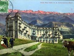 Hotel Rigi Kulm m d Unterwaldner Alpen