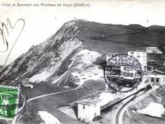 Hotel et Sommet des Rochers de Naye