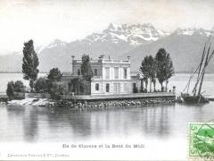 Ile de Clarens et la Dent du Midi