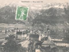 Innsbruck v Weg nach Vill