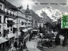 Interlaken Höheweg Jungfrau