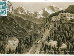 Interlaken Heimwehfluh Jungfrau Mönch u Eiger