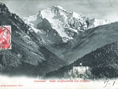 Interlaken Hotel Jungfraublick und Jungfrau