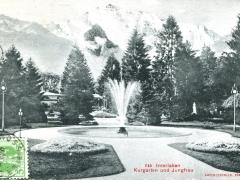Interlaken Kurgarten und Jungfrau