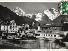 Interlaken Thunersee Schiffstation