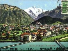 Interlaken die Jungfrau Generalansicht
