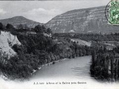 L'Arve et le Saleve pres Geneve