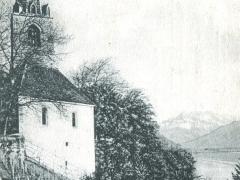 L'Eglise de Montreux et la Dent du Midi