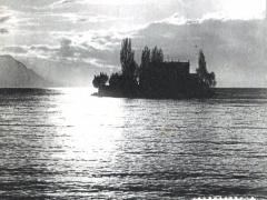 L'Ile Salangon Lac Leman