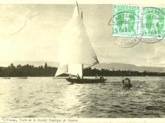 L'Usona Yacht de laSociete Nautique de Geneve