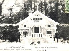 La Chaux de Fonds Villa de neige et ses constructeurs