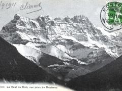 La Dent du Midi vue prise de Montreux