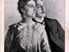 La Princesse Louise de Saxe et M Andre Giron