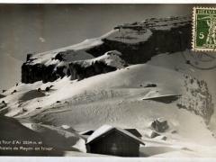 La Tour d'Ai Chalets de Mayen en hiver