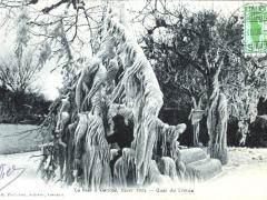 La bise a Geneve hiver 1905 Quai du Leman