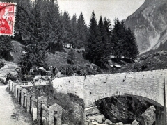 La posta federale sul ponte presso