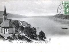 Lac de Joux Vue prise du Pont