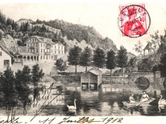 Lac de Lucelles Kurzhaus Lüzelhof