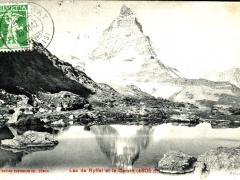 Lac de Ryffel et le Cervin