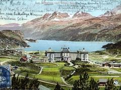 Maloja und Silser See