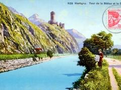 Marigny Tour de la Batiaz et la Dranse
