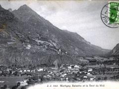 Martigny Salantin et la Dent du Midi