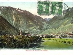 Martigny et le col de Forclaz