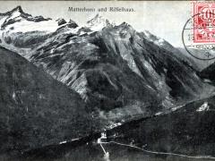 Matterhorn und Riffelhaus
