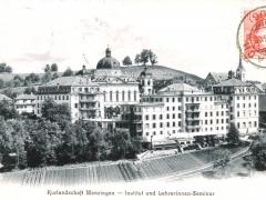 Menzingen Kurlandschaft Institut und Lehrerinnen Semina
